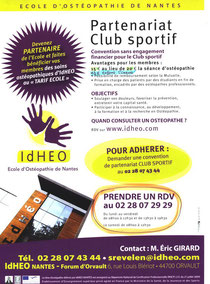 Ecole d'Ostéopathie de Nantes