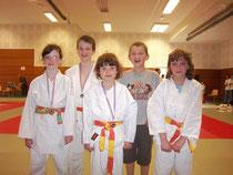 Les poussins de l' Al.Judo Club Le Pellerin