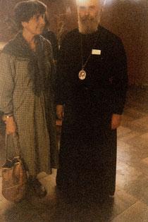Митрополит Антоний Сурожский с духовной дочерью Хильдой Пюшель