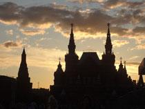 モスクワ、赤の広場から