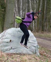 Rebecca Sadowsky im Einsatz für ihre Radsport Fotos