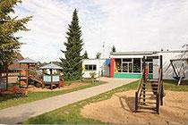 Vorplatz des Kath. Kindergartens in Kommern