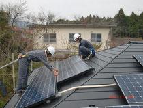 太陽光工事中