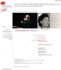 【↑↑ クリックで拡大】2010年3月3日のコンサート予告。キャンセルしたレヴァインの代わりにバレンボイムが振った。