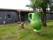Krug vor Keramik Auf der Spek