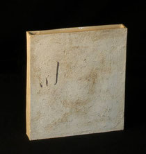 内田鋼一陶板扁壷型ケース