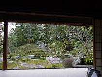 「宝積院」の庭