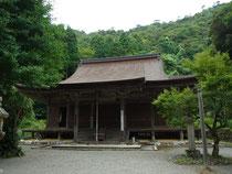 「羽賀寺」本堂