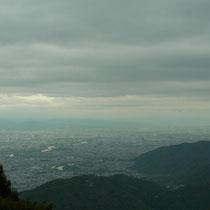 松尾大社、桂川、奈良の山々まで見渡せます