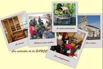 """Ateliers Jeune Public, visites, conférences, publications, """"P.P.E.""""..."""