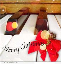 カフェで流れるクリスマスピアノ