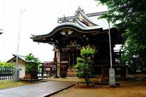 雨の日の諏訪神社もいいよね