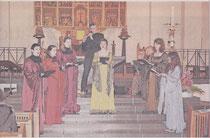 Das Gesangensemble Ars Choralis gastierte in der Pfarrkirche St. Lambertus      RP-FOTO: RENATE RESCH_RÜFFER