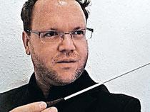 Premiere für Tobias Liedtke beim Konzert am Sonntag. Foto: kn