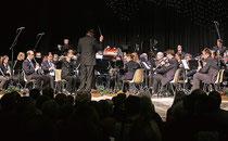 Mit seinem Frühjahrskonzert begeisterte der Städtische Musikverein in der Stadthalle Erkelenz. Foto: Jürgen Laaser