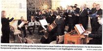 Annette Wagner leitete ihr erstes großes Kirchenkonzert in neuer Funktion als hauptamtliche Kantorin. Für die ökumenische Komponente sorgte der katholische Kantor Stefan Emanuel Knauer (r.) als Orgelbegleiter und Solist. RP-FOTO: JüRGEN LAASER