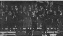 """""""rejoiSing"""" live in Erkelenz: Der beliebte Gospelchor präsentiert sein neues Programm am 24. März in der Stadthalle. Foto: Le"""