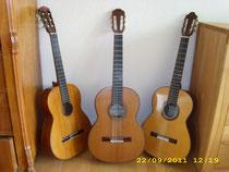 3 von 5 Gitarren