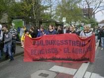 Bildungsstreik Bergisch Gladbach 2010