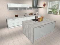 Unsere Küche im Küchenplaner. Weitere Bilder der Planung in der Galerie.
