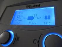 Die Wärmepumpe entzieht während dem Betrieb dem Erdreich die Wärmeenergie