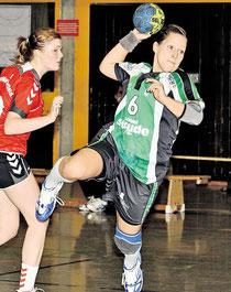 Diese Chancen müssen verwertet werden: Inga Zilling und der TuS Altwarmbüchen treten am Sonntag beim HSC Hannover an.