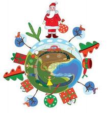 Um Weihnachten.Weihnachten Rund Um Die Welt Buntstifter