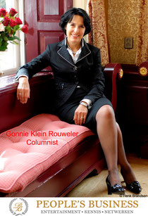 Imago en etiquette deskundige Gonnie Klein Rouweler, Columnist People's Business