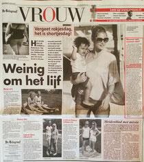 Etiquette en imago expert Gonnie Klein Rouweler Telegraaf VROUW.nl Shorts