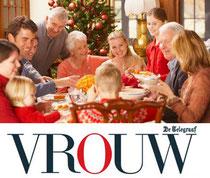 Imago en etiquette deskundige Gonnie Klein Rouweler columnist VROUW.nl Telegraaf kerstetiquette met familie
