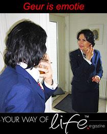 Geur is emotie Column Your Way of Life Gonnie Klein Rouweler etiquettespecialist