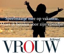 Imago en etiquette expert Gonnie Klein Rouweler VROUW.nl Telegraaf, moet ik betalen voor zijn vriendje?