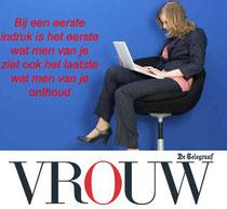 Tips voor een eerste werkdag Gonnie Klein Rouweler etiquettespecialist VROUW.nl Telegraaf