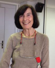 Anne Tursz à l'INSERM où elle a été décorée ce 24 avril