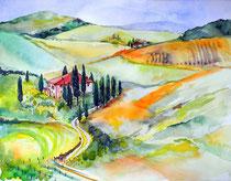 Toskana, ein Traum in Grün