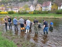 Gewässerwartfortbildung beim LFBW 2019