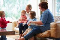 Hilfe für Mütter