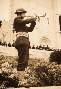 bugle, taps,marine corps,WWI,bw,Memorial Day,Ceremony