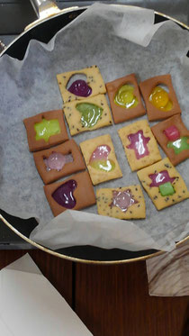 ステンドグラスクッキー