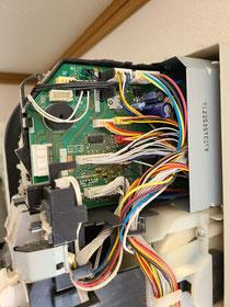 2011年製のPanasonic お掃除機能付きの基盤