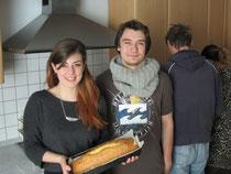 Carolin Mindel und Florian Spöcker als Bufdi im GPZ
