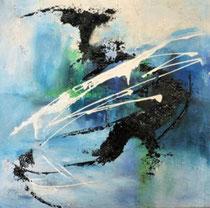 Acrylmalerei, Mischtechmik, 50 cm x 50 cm