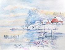 Winterlandschaft Frost 1