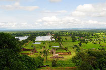 Vat Phou遺跡からの景観
