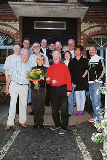 Der neue Vorstand des Gewerbevereins (seit 2012)