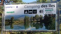 Le camping des îles
