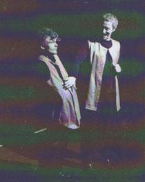 Une des légendes de nos zéros de chez nous : Lamme Goedzak et Thyl (Luc Vandermaelen) au Théâtre Poème et en tournée