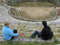 das Amphitheater von Dodoni