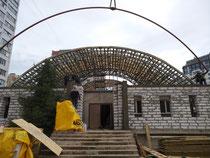 Продолжается реконструкция храма великомученицы Варвары.