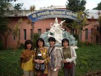 2010.11南インド バンガロール郊外のヨーガ療法施設プラシャンティで